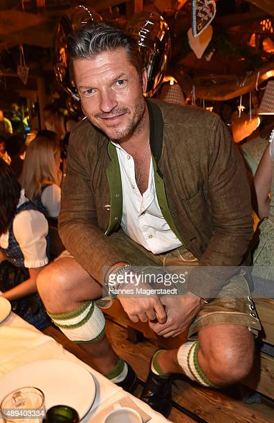 Hardy Krueger jr attends the Almauftrieb during the Oktoberfest 2015 at Kaefer Tent on September 20 2015 in Munich Germany
