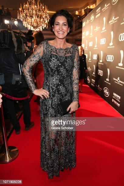 Hardy Krueger jr wife Alice Krueger during the Audi Generation Award 2018 at Hotel Bayerischer Hof on December 11 2018 in Munich Germany