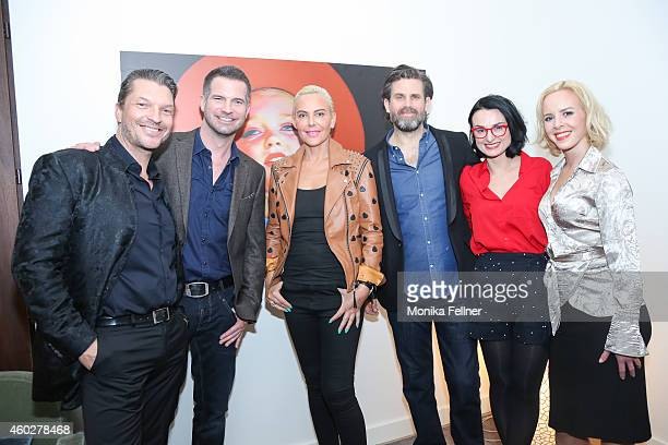 Hardy Krueger Jun Natascha Ochsenknecht Simon Boeer Steffen Groth Mimi Fiedler and Isabel Evardsson attend the D'Art by Hardy Krueger Jun Vernissage...