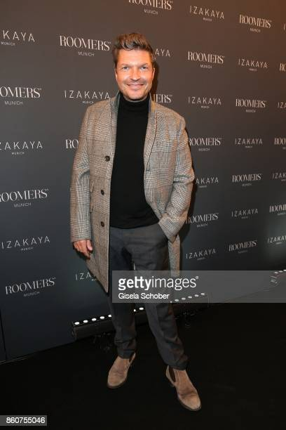 Hardy Krueger Junior during the grand opening of Roomers IZAKAYA on October 12 2017 in Munich Germany