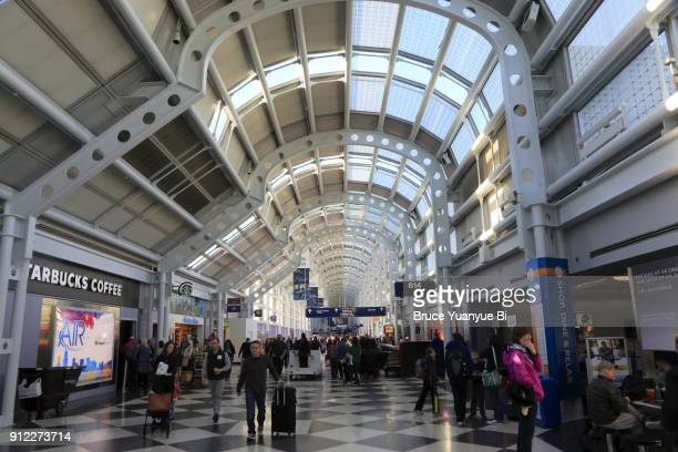o'hare international airport - ohare airport stock pictures, royalty-free photos & images