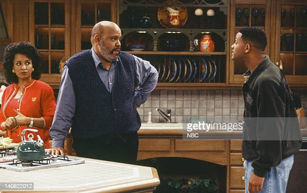 AIR THE Hare Today Episode 18 Pictured Daphne Reid as Vivian Banks James Avery as Philip Banks Will Smith as William 'Will' Smith Photo by Chris...