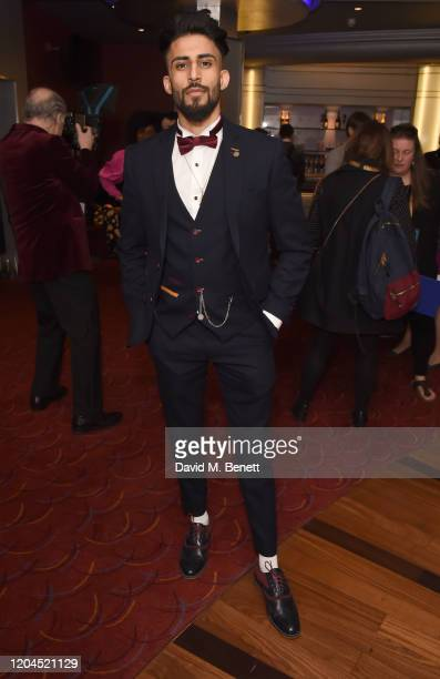 Hareet Deola attends The WhatsOnStage Awards 2020 at The Prince of Wales Theatre on March 1 2020 in London England