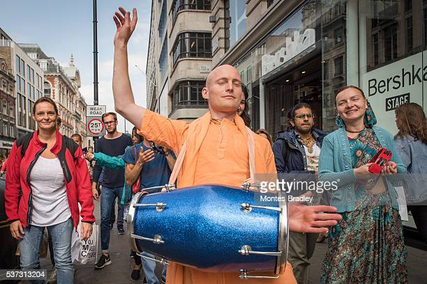 Hare-Krishna parade in London