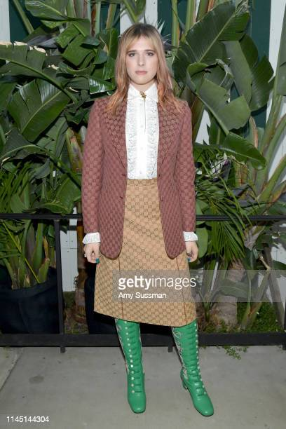 Hari Nef attends an intimate dinner in celebration of BoF West 2019 at San Vincente Bungalows on April 25, 2019 in Los Angeles, California.