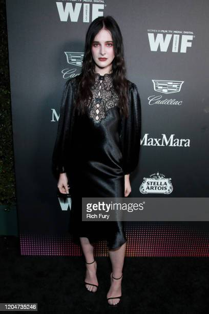 Hari Nef attends the 13th Annual Women In Film Female Oscar Nominees Party at Sunset Room Hollywood on February 07 2020 in Hollywood California