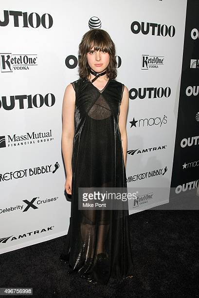 Hari Nef attends the 2015 OUT 100 Celebration at Guastavino's on November 11 2015 in New York City