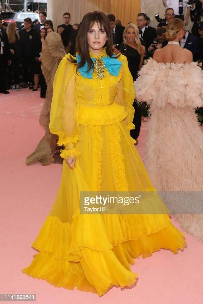 Hari Nef attends the 2019 Met Gala celebrating Camp Notes on Fashion at The Metropolitan Museum of Art on May 6 2019 in New York City