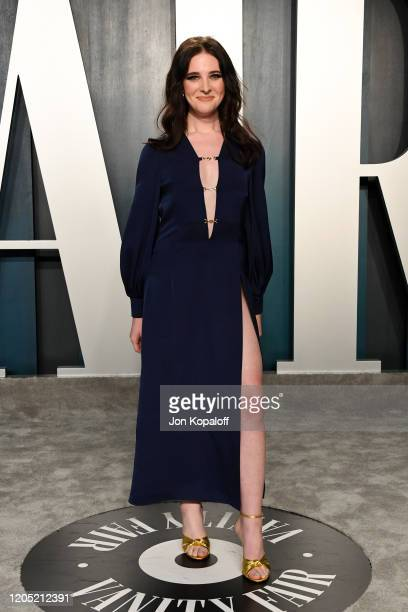 Hari Nef attends the 2020 Vanity Fair Oscar Party hosted by Radhika Jones at Wallis Annenberg Center for the Performing Arts on February 09 2020 in...
