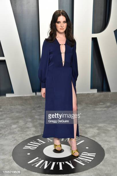 Hari Nef attends the 2020 Vanity Fair Oscar Party hosted by Radhika Jones at Wallis Annenberg Center for the Performing Arts on February 09, 2020 in...