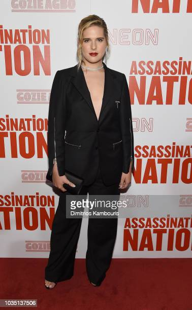 Hari Nef attends The Assassination Nation New York Screening at Metrograph on September 17 2018 in New York City