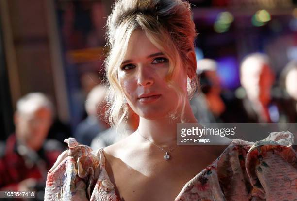 """Hari Nef attends the European Premiere of """"Assassination Nation"""" & Cult gala during the 62nd BFI London Film Festival on October 19, 2018 in London,..."""