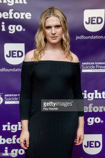 Hari Nef attends the 'Right Before I Go' Benefit performance at Town Hall on December 4 2017 in New York City