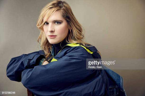 Hari Nef from 'Assassination Nation' poses for a portrait at the YouTube x Getty Images Portrait Studio at 2018 Sundance Film Festival on January 22...