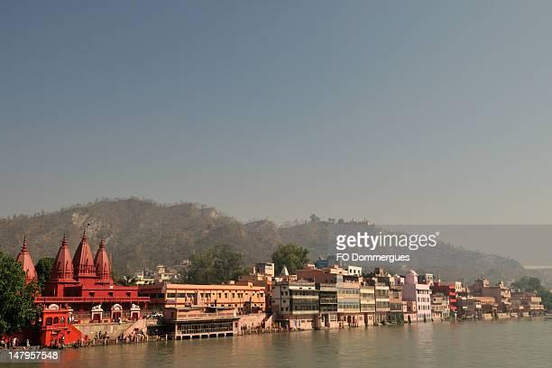 haridwar, temples - haridwar stock pictures, royalty-free photos & images