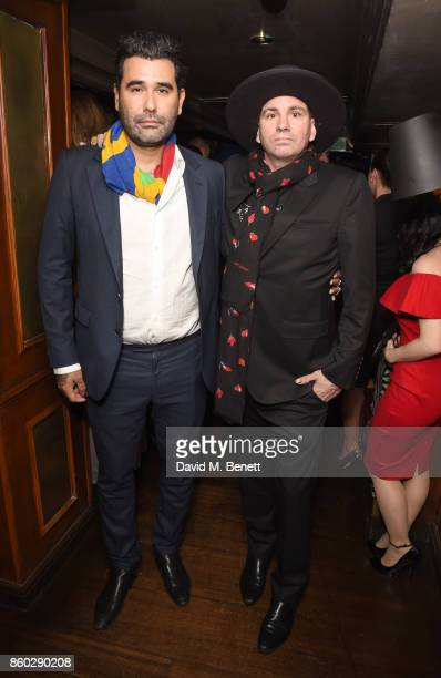 Harif Guzman and Danny Minnick attend the The BARDOU Foundation's International Day Of The Girl Gala in support of The Princes Trust at Albert's Club...