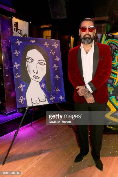 Harif Guzman attends the International Day of the Girl Child Charity Event At The Original Annabel's hosted by The Bardou Foundation at Annabel's on...