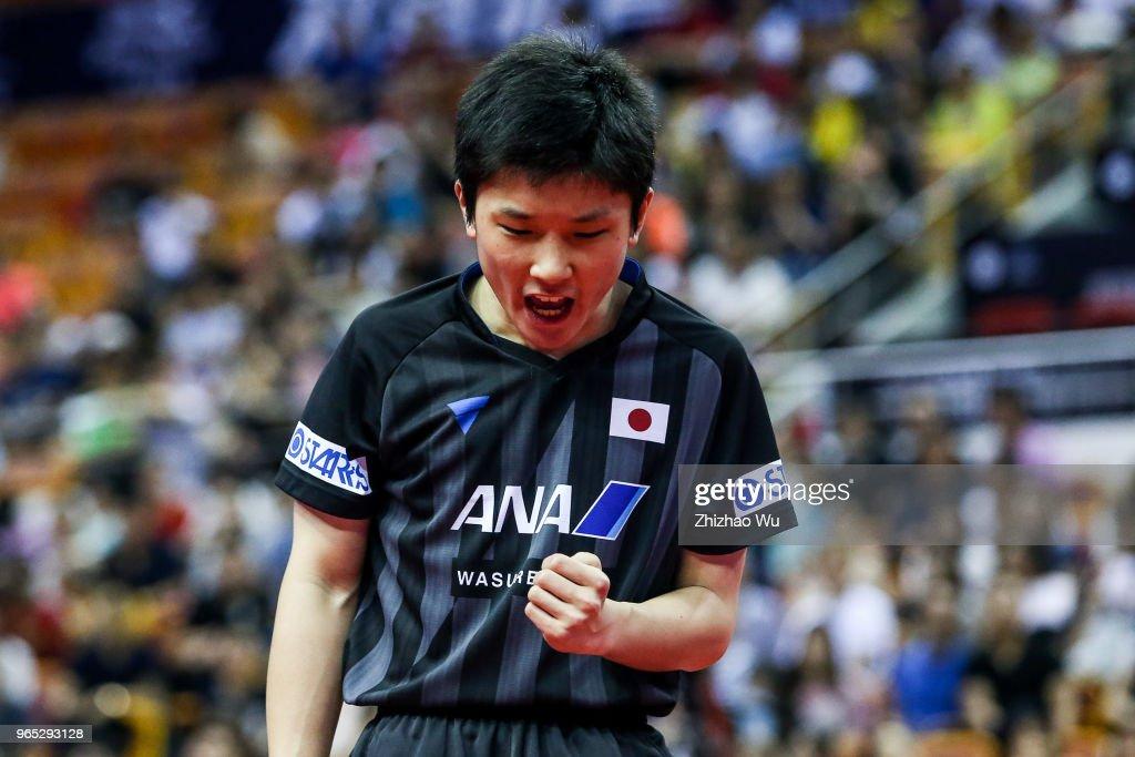 2018 ITTF World Tour China Open - Day 2 : ニュース写真