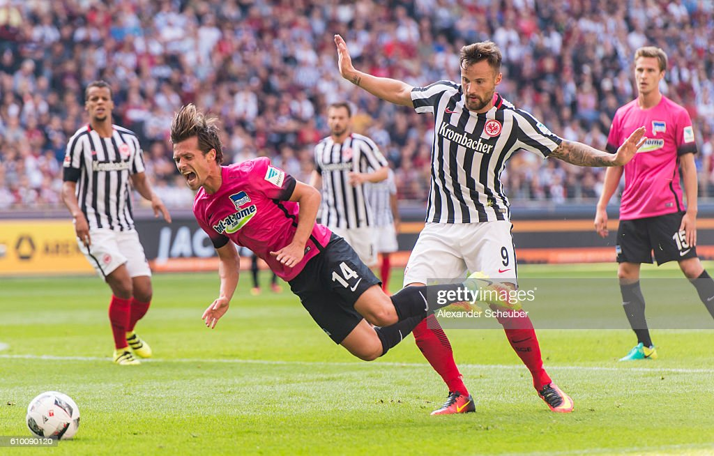 Eintracht Frankfurt v Hertha BSC - Bundesliga : News Photo