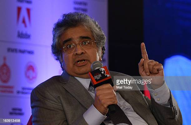 Harish Salve during the India Today Conclave 2013 in New Delhi