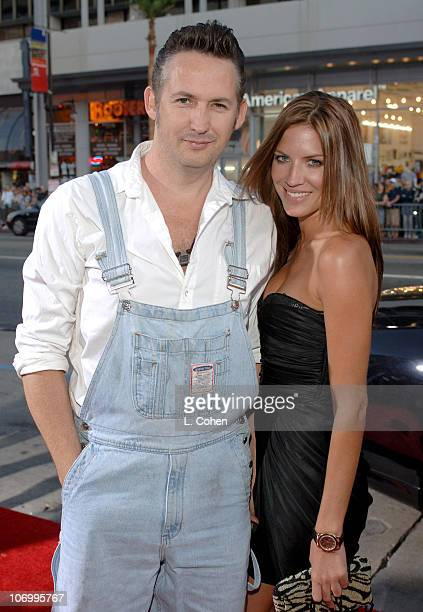 Harland Williams and Brittney Rice during 'Employee of the Month' Premiere Red Carpet at Mann's Chinese Theater in Hollywood California United States