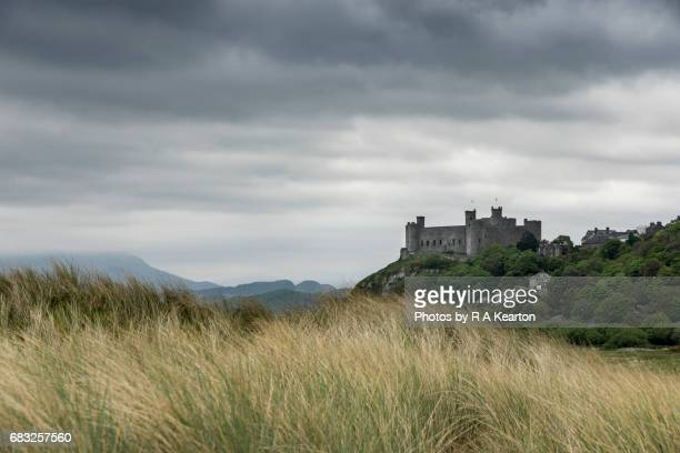 Harlech castle, Snowdonia, North Wales