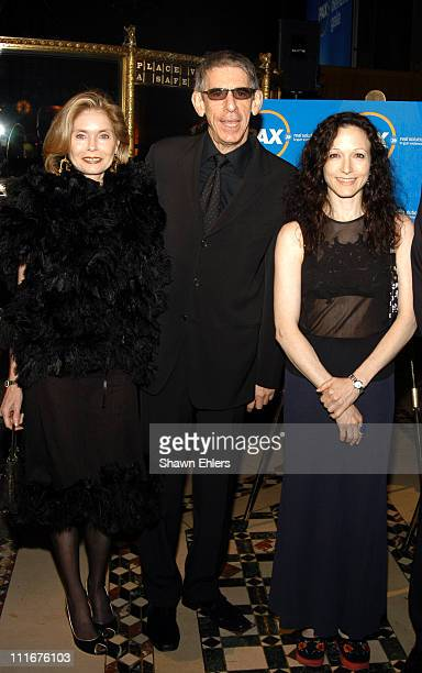 Harlee McBride Richard Belzer and Bebe Neuwirth during PAX Benefit Gala 2004 at Cipriani in New York City New York United States