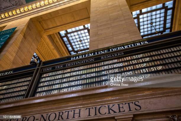 Harlem Line Schedule
