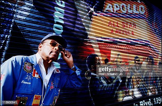 Harlem renaissance In New York United States On November 06 2000Franco The Great is a wall painter in Harlem