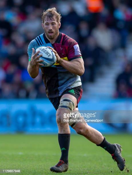 Harlequins' Chris Robshaw during the Gallagher Premiership Rugby match between Harlequins and Gloucester Rugby at Twickenham Stoop on March 10 2019...