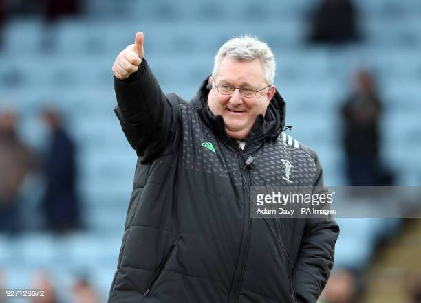 Harlequins' Director of Rugby John Kingston during the Aviva Premiership match at Twickenham Stoop London