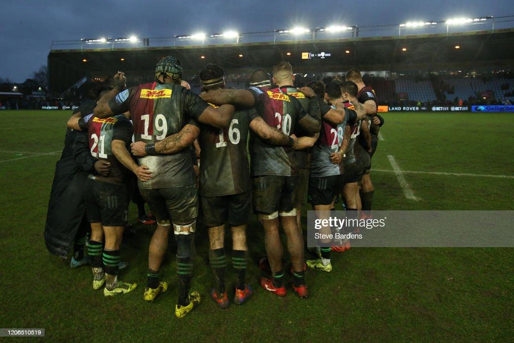 Harlequins v London Irish - Gallagher Premiership Rugby : News Photo