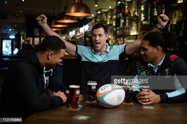 Harlequins' Tim Visser, Nathan Earle & Mat Luamanu join selected rugby fans from across London for a bit of banter and a pint to preview The Six...