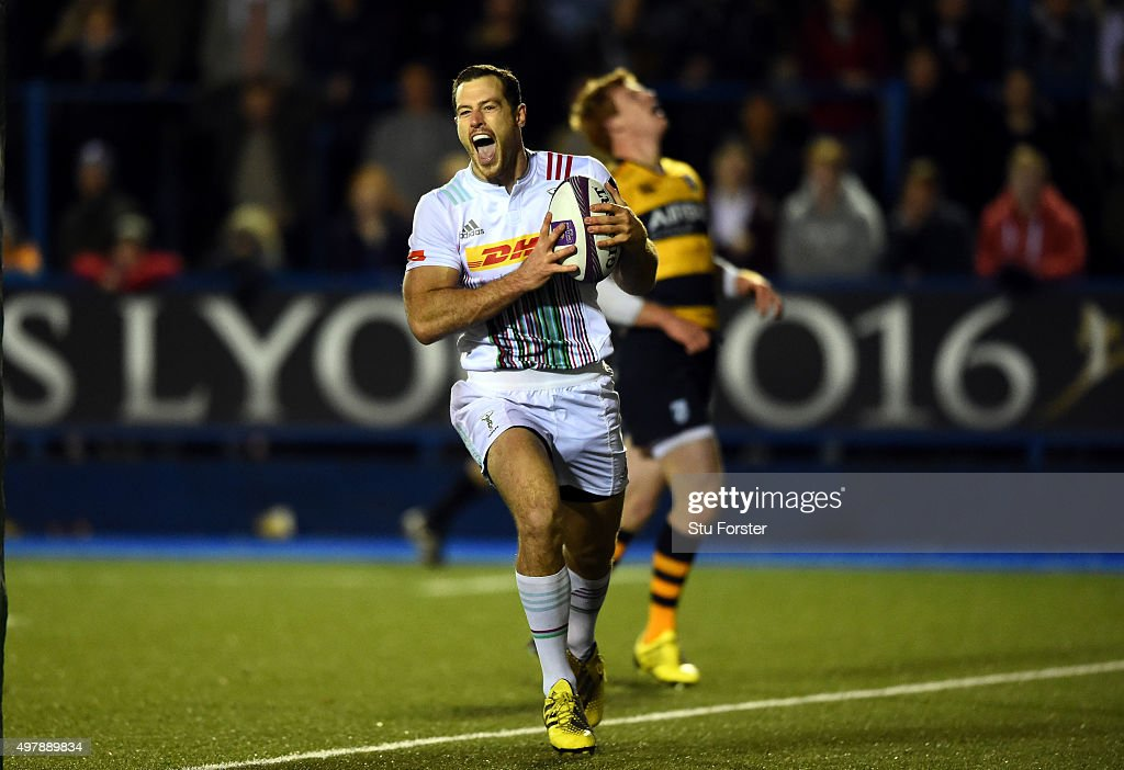 Cardiff Blues v Harlequins - European Rugby Challenge Cup : News Photo
