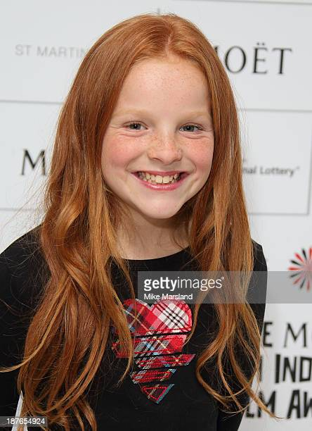 Harley Bird attends as the nominations for the British Independent Film Awards are announced at St Martin's Lane Hotel on November 11 2013 in London...