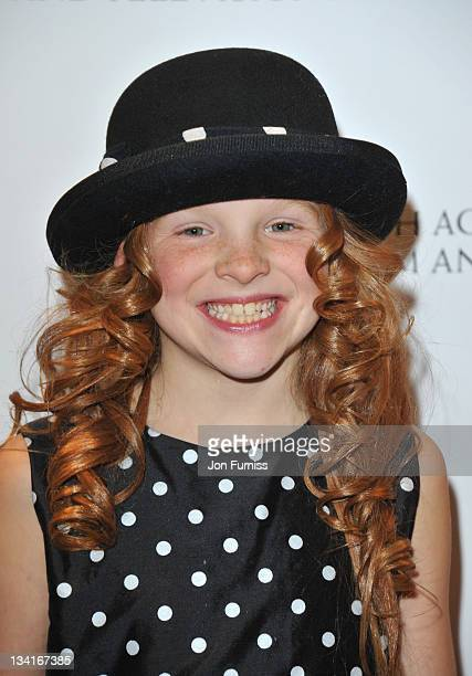 Harley Bird attends the British Academy Children's Awards at London Hilton on November 27 2011 in London England