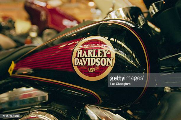 Harley Davidson Motorcycle at Factory