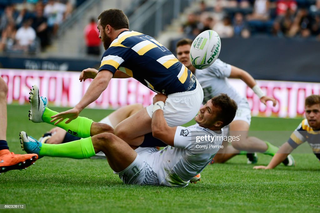 Penn Mutual Collegiate Rugby Championship News Photo