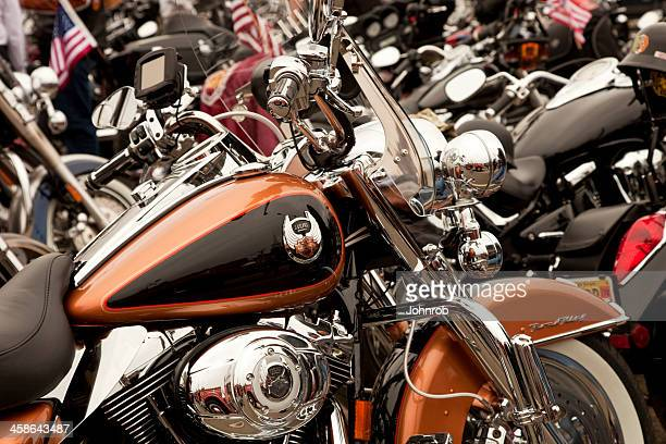 Harley Davidson Road King at Wounded Warrior Motorcycle Rally