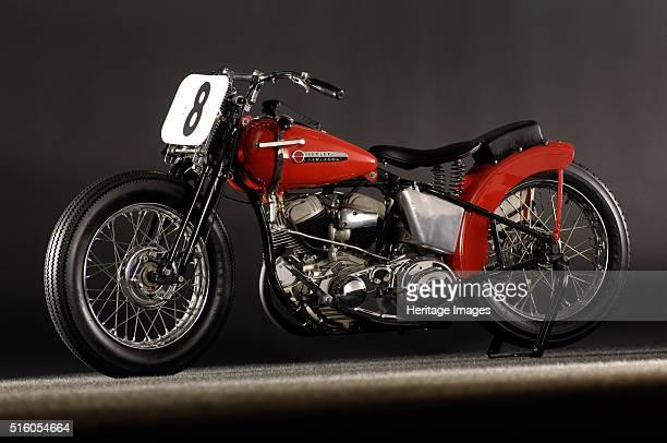 Harley Davidson WR Daytona 1948 By Simon Clay