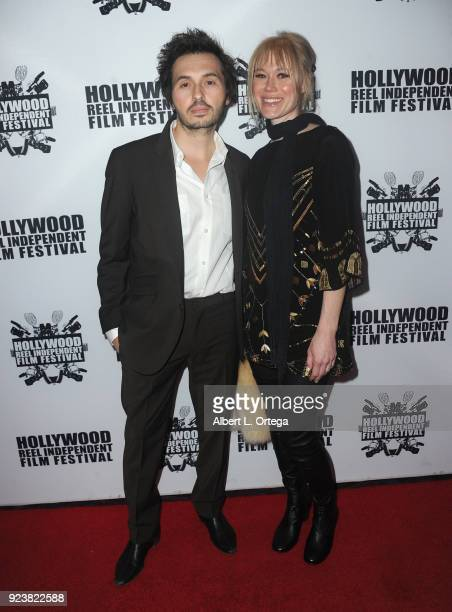 Harley Di Nardo and Kirsten Di Nardo attend the 17th Annual Hollywood Reel Independent Film Festival Award Ceremony Red Carpet Event held at Regal...
