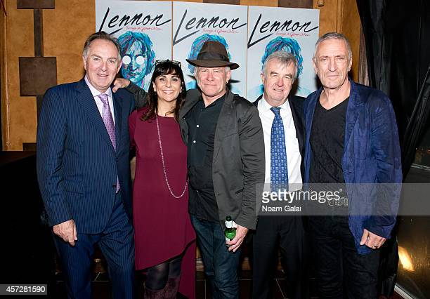 Harley Medcalf Maria Medcalf Stewart D'Arrietta Phillip Walker and John R Waters attend the 'Lennon Through A Glass Onion' Opening Night After Party...