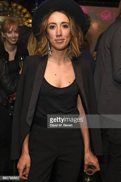 Harley Moon Kemp attends as The Ingenue celebrates the launch of its 5th issue at Loulou's 5 Hertford Street on March 30 2017 in London England