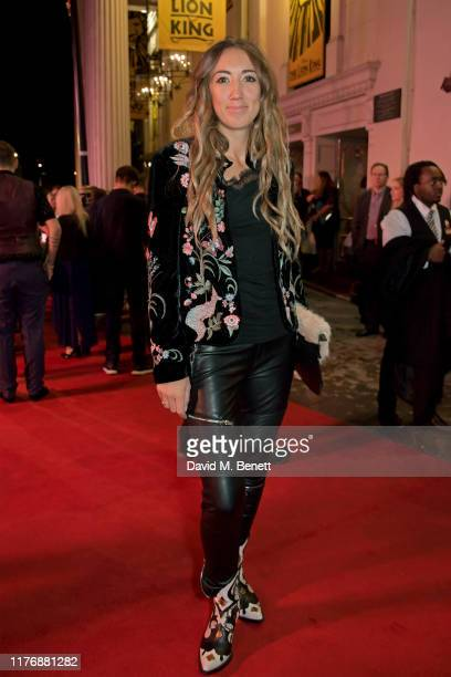 Harley Moon Kemp attends the 20th anniversary gala performance of The Lion King at The Lyceum Theatre on October 19 2019 in London England