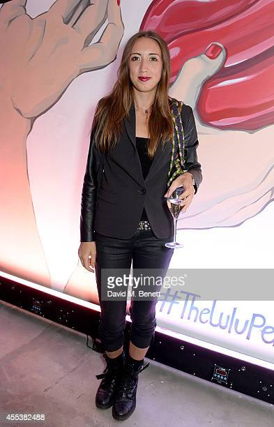 Harley Moon Kemp attends the launch of The Lulu Perspective To Celebrate 25 Years of Lulu Guinness on September 13 2014 in London United Kingdom