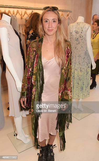 Harley Moon Kemp attends the reinvention of Ghost on Kings Road hosted by Touker Suleyman on April 15 2015 in London England