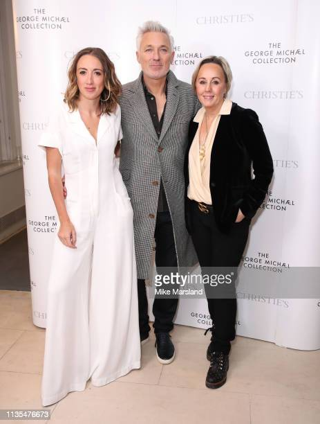 Harley Moon Kemp Martin Kemp and Shirlie Holliman attend The George Michael Collection VIP Reception at Christies on March 12 2019 in London England