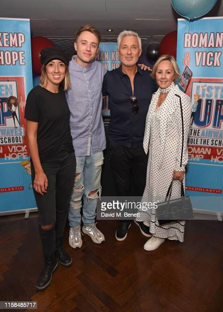 Harley Moon Kemp Roman Kemp Martin Kemp and Shirlie Holliman attend a party to celebrate the upcoming release of Vick Hope and Roman Kemp's new...