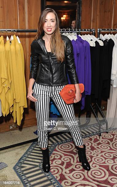 Harley MoonKemp daughter of Martin Kemp and Shirley Holliman launches the new Stefanel collection at The Westbury Hotel on March 19 2013 in London...