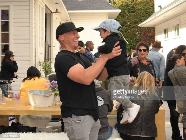 Harley Pasternak attends AKID Brand's 3rd Annual 'The Egg Hunt' at Lombardi House on March 17 2018 in Los Angeles California